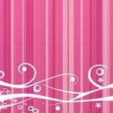 Roze achtergrond Royalty-vrije Stock Afbeeldingen