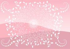 Roze achtergrond Stock Fotografie