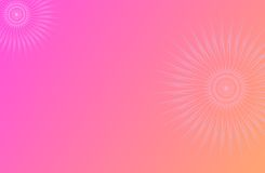 Roze Achtergrond Royalty-vrije Stock Foto