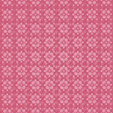 Roze achtergrond met bloemen Stock Afbeelding