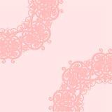 Roze achtergrond Vector illustratie Royalty-vrije Stock Afbeelding