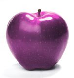 Roze appel Stock Foto