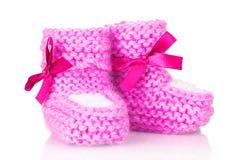 Roze babybuiten stock afbeelding