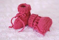 Roze babybuiten Stock Afbeeldingen