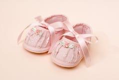 Roze Babybuiten Stock Foto