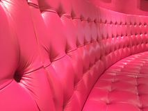 Roze bank stock fotografie