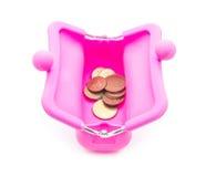 Roze beurs Royalty-vrije Stock Foto