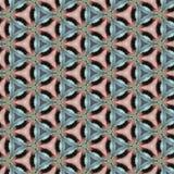 Roze Blauw Caleidoscoopdocument Patroon Als achtergrond Stock Fotografie