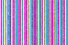 Roze, blauwe, gele, groene strepen stock illustratie