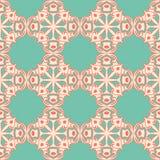 Roze blauwe naadloze achtergrond Royalty-vrije Stock Fotografie