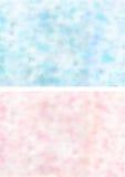 Roze blauwe texturen Stock Fotografie