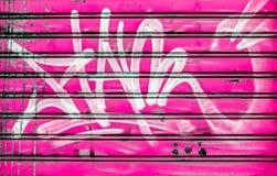 Roze blind stock fotografie