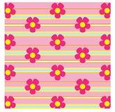 Roze bloemachtergrond Royalty-vrije Stock Foto's