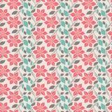 Roze bloemen stock illustratie