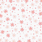 Roze Bloemen als achtergrond Royalty-vrije Illustratie