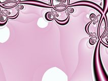 Roze BloemenFrame Royalty-vrije Stock Foto