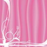Roze bloemenontwerp Royalty-vrije Stock Afbeeldingen