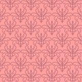 Roze BloemenPatronen Stock Afbeeldingen