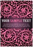 Roze bloemenpatroon Royalty-vrije Stock Foto