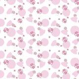 Roze bloemenreeks Royalty-vrije Stock Afbeelding