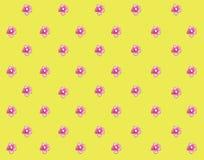 Roze bloemenwaterverf weinig roze bloem mooie achtergrond stock illustratie