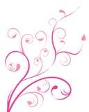Roze bloempatroon stock illustratie