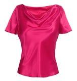 Roze blouse Stock Fotografie