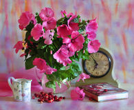 Roze boeket Royalty-vrije Stock Foto's