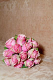 Roze boeket Royalty-vrije Stock Foto