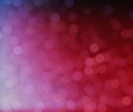 Roze bokehdalingen als achtergrond Royalty-vrije Stock Afbeeldingen