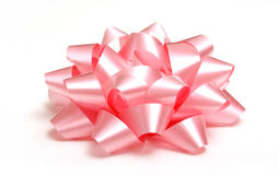 Roze Boog Stock Afbeelding