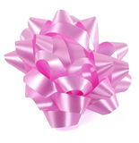 Roze boog Royalty-vrije Stock Fotografie