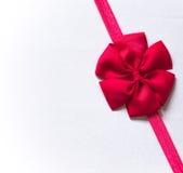 Roze boog Royalty-vrije Stock Foto