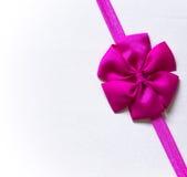 Roze boog Royalty-vrije Stock Afbeeldingen