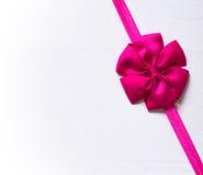 Roze boog Stock Afbeeldingen