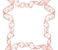 Roze boogframe Stock Afbeeldingen
