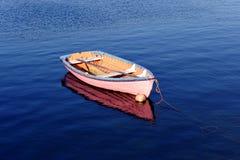 Roze Boot Stock Foto