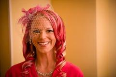 Roze Bruid Royalty-vrije Stock Foto