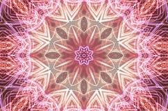 Roze caleidoscoop Royalty-vrije Stock Fotografie