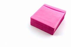 Roze CD document geval Royalty-vrije Stock Foto's