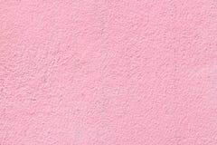 Roze cementtextuur Stock Afbeeldingen