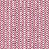 Roze chevron naadloos patroon. Stock Foto