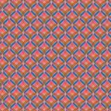 Roze cirkelpatroon Royalty-vrije Stock Foto's