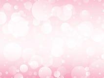 Roze cirkelsachtergrond royalty-vrije illustratie