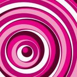 Roze cirkelsachtergrond. Vector. Stock Fotografie