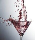 Roze cocktail Royalty-vrije Stock Afbeeldingen