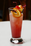Roze cocktail Stock Foto's