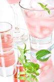 Roze cocktails royalty-vrije stock afbeeldingen
