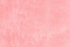Roze concrete muur Royalty-vrije Stock Foto's