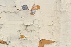 Roze concrete muur met krassen en schade abstracte achtergrond Stock Afbeeldingen